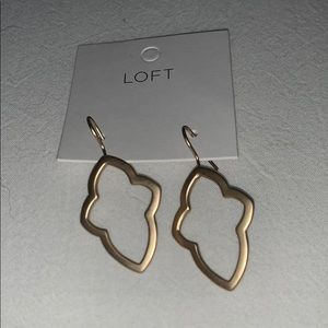 NWT LOFT Gold Earrings